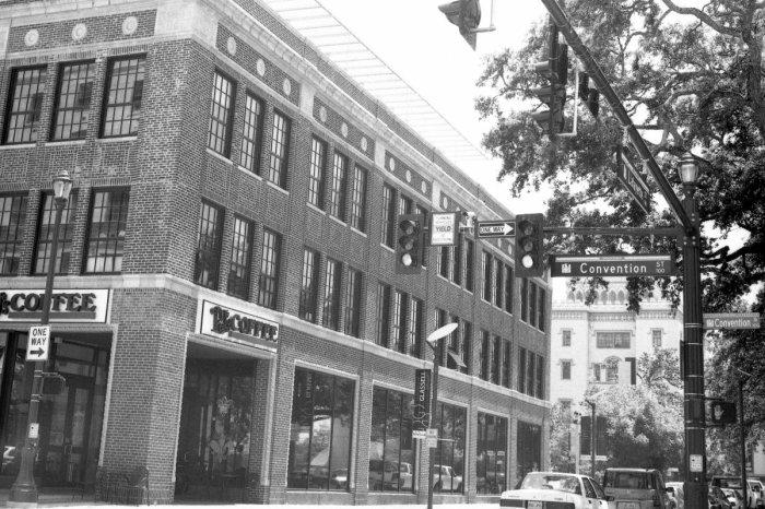 Convention Street, Downtown Baton Rouge, Louisiana